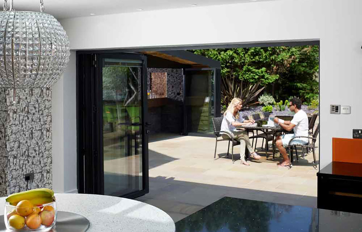 Essential Aluminium Bi-Folding Doors 2