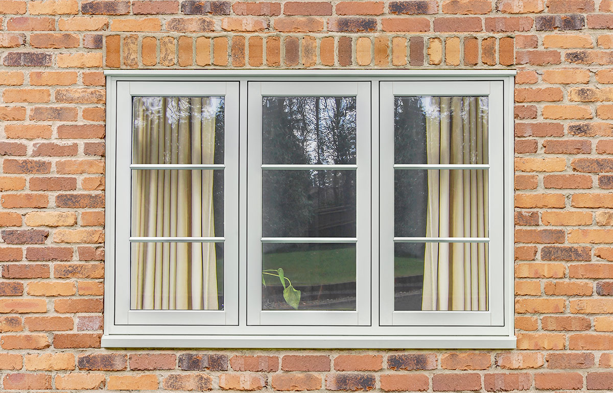PVC-u Flush Timber Look Casements 7