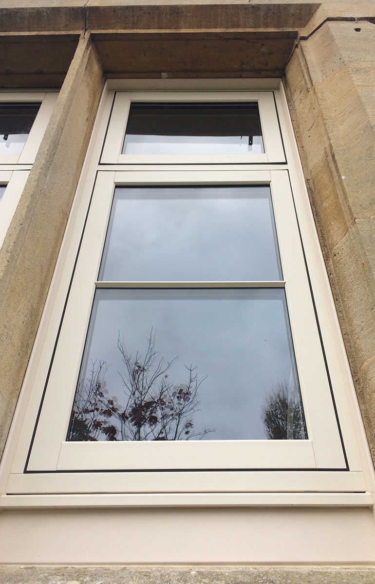 PVC-u Flush Timber Look Casements 5