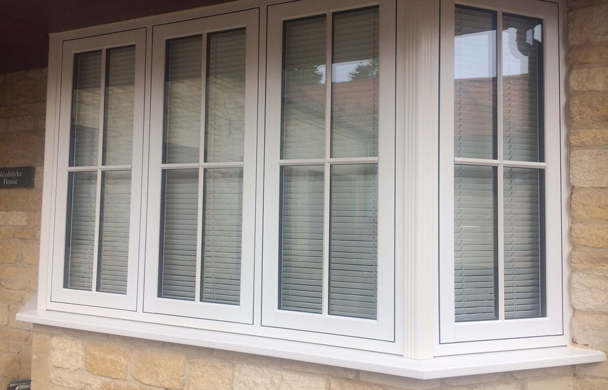 PVC-u Flush Timber Look Casements 6