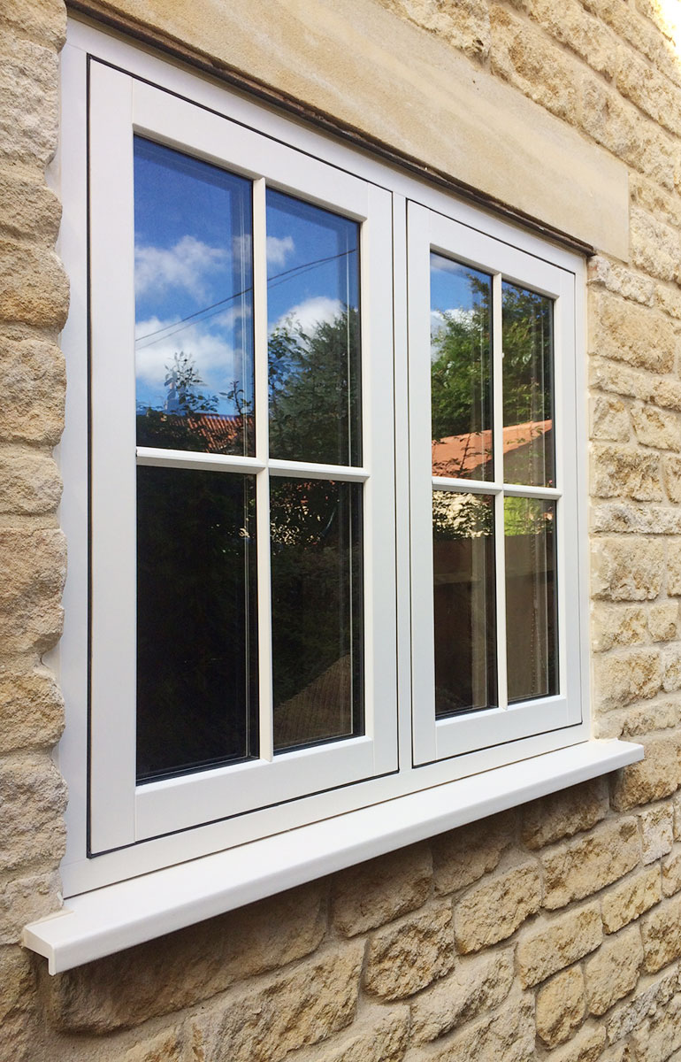 PVC-u Flush Timber Look Casements 4