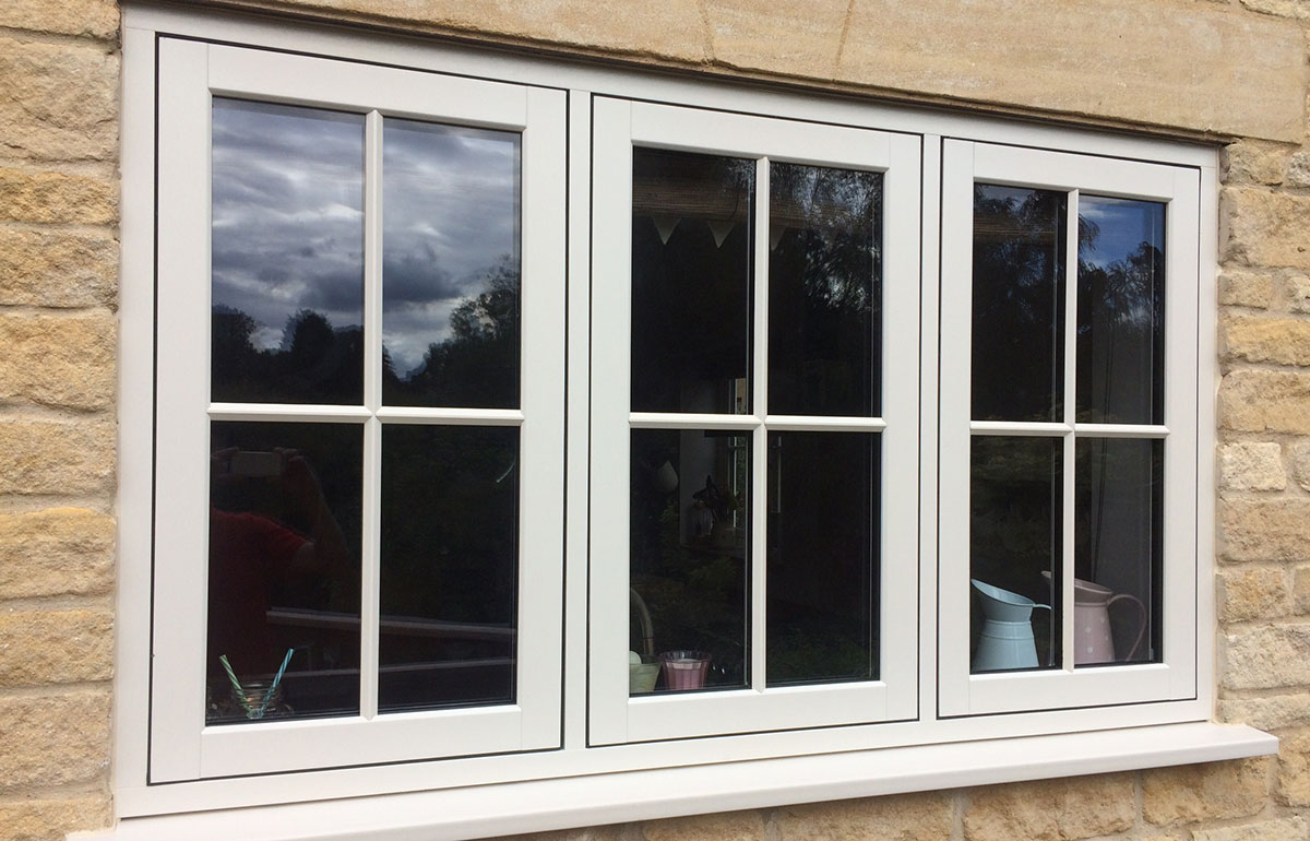 PVC-u Flush Timber Look Casements 8
