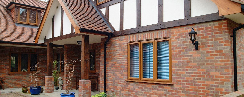 PVC-u Rebated Timber Look Casements 1